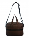 BROWN MESSENGER BAG