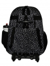 BLACK HEART TROLLEY BACKPACK