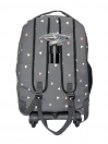 GREY TRIANGLE TROLLEY BACKPACK