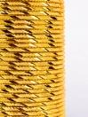 Gold Glitzy Aluminium Bangles (12 Pieces Set)