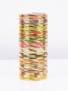 Multi Colored Rival Aluminium Bangles
