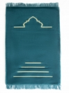 See Green Sailing Ship Foam Prayer Mat