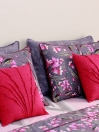 Fuschia Comforter set