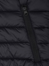 Black Olive Sleeveless Puffer Gilet  Jacket