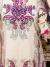Multicolored Embroidered & Digital Print Unstitched Cotton Shirt