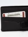 Black Cow Leather Wallet for Men