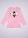 HONEY BEE SEQUENCE SHIRT FOR GIRLS