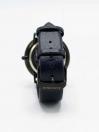 KWC Quartz Blue Dial Blue Leather Strap Men's Watch