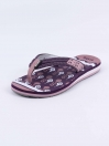 Dark Purple Kito Flip Flop for Women - EW4323