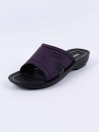 Dark Purple Kito Chappal for Women - AN17W
