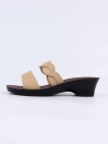 Cream Kito Chappal for Women- UW7050