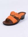 Orange Kito Chappal for Women- UW7050