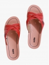 Red Kito Chappal for Women - AN8W
