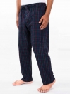 Multicolor Check Cotton Blend Relaxed Pajamas