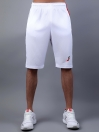 White/Red Active Fit Men's Shorts