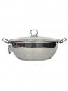 Alpha Stainless Steel Karahi Pot 24Cm
