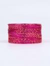 Rose Ornate Aluminium Bangles for Women
