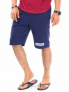 "Epic Terry Knit  Jogger Shorts 10"" Navy Blue"