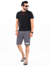"Epic Terry Knit  Jogger Shorts 10"" Dark Grey"