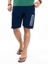 """Raw-Hem Jogger Short 10"""" Bright Navy"""