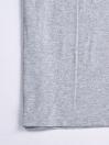 Cally Custom Fit Cotton  Tee Shirt- Grey