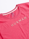 Women Pink Round Bottom  T-shirt