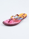 Red Yellow Floral Flip Flop