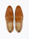 Croco Penny Loafer Men's Shoe
