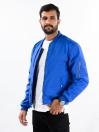 Super Soft Blue Bomber Jacket