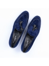 Men Blue Troy Slip On Shoes