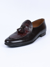 Men Brown Troy Fashion Croco Slip-ons