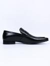 Round Toe Men's Black Premium Penny Loafer