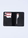 Executive Leather Card Holder Black