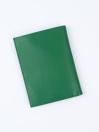 Executive Leather Passport Holder Green