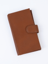 Executive Leather Single Mobile Wallet Tan