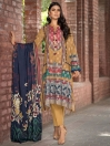 Orchard Printed Jacquard Unstitched 2Piece Suit for Women