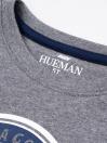 Big Boys Grey Full Sleeves T-Shirt