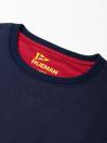 Men Navy Fleece Sweatshirt
