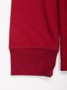 Men Maroon Solid Full Sleeves T Shirt