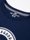 Little Boys Full Sleeve T-Shirt Navy Blue