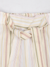 Girls' Relaxed Woven Trousers Off White