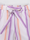 Girls' Relaxed Woven Trousers Magenta
