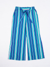 Girls' Relaxed Woven Trousers Blue