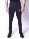 FIREOX Activewear Trouser, Black Yellow