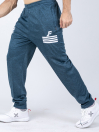FIREOX Activewear Trouser, Carolina Blue, White Stripes