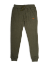 Men Olive Terry Sweatsuits