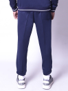 FIREOX Activewear Tracksuit, Navy Blue, White