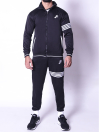 FIREOX Activewear Tracksuit ,Black White, D3