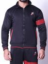 FIREOX Activewear Jacket,  Red Black