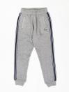 Little Boy Grey Crewneck Fleece Sweatsuit